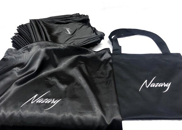 Мішечки для бренду «Nazary».