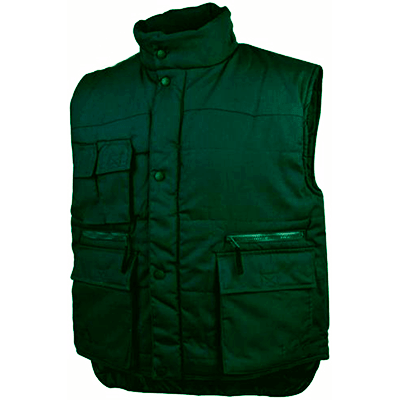 Winter working vests photo No. 1